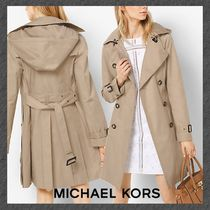 NEW◆MICHAEL KORS◆トレンチコート◆Hooded Trench Coat