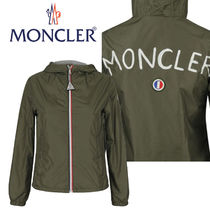 MONCLER NEW URVILLE ロゴ入り 大人も着れる 4 -14歳 カーキ