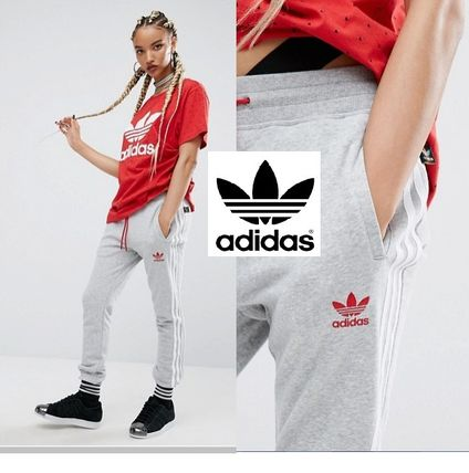 Adidas x Pharrell Williams sweat pants on and