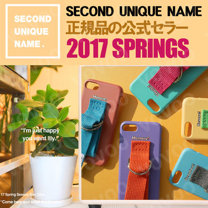 SECOND UNIQUE NAME iPhone・スマホケース 【NEW】「SECOND UNIQUE NAME」 2017 SPRING EDITION 正規品