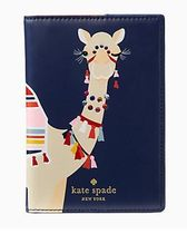 Kate Spade spice things up camel パスポートホルダー