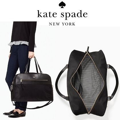 kate spade new york バッグ 【送料込み】旅行用に☆大きめバッグ○smith street zanna