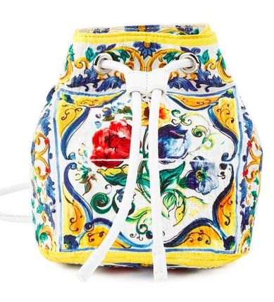 D & G 2016AW thin just pattern backpack