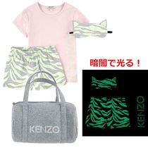 KENZO★2017SS 大人OK!ナイトマスク付暗闇で光るパジャマ★3~14Y