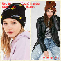 Urban Outfitters(アーバンアウトフィッターズ) ニットキャップ・ビーニー Urban Outfitters*Icon Intarsia Beanie/二種