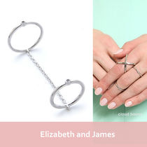 Elizabeth and James(エリザベスアンドジェームズ) 指輪・リング セレブ愛用☆Elizabeth and James☆Miro Knuckle Ring♪送料税込