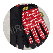 【17SS】S/M/L★Supreme Mechanix Original Work Gloves 手袋 赤
