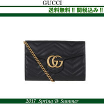 関税込,2017SS★GUCCI(グッチ)GG Marmont matelasse mini bag
