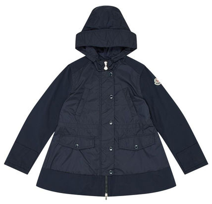 MONCLERモンクレール*Cleanthe ネイビー 4-14A 国内発送 関税込
