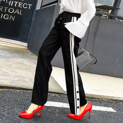 ♦ ♦ sideline slit wide pants