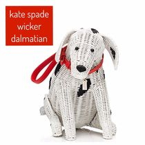 kate spade /カゴバッグ/rose-colored glasses wicker dalmatian