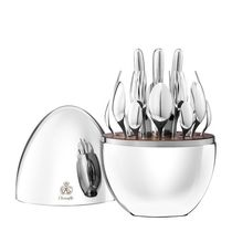 Christofle (クリストフル) 24 Piece Plated Flatware Set mood