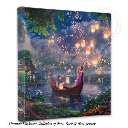 Rapunzel Disney Tower canvas art Board