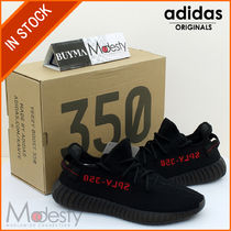 即発  adidas CP9652 YEEZY BOOST 350 V2 BLACK/RED 9.5/27.5cm