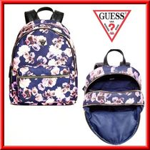 【Guess】お早めに!!花柄 バックパック リュック 春におススメ♪