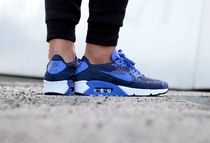 """[NIKE]AIR MAX 90 ULTRA 2.0 FLYKNIT """"College Navy""""【送料込】"""