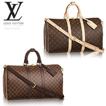 【Louis Vuitton】キーポル45 モノグラム ダミエ 旅行用バッグ