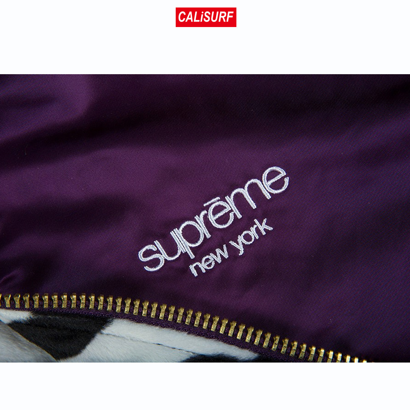Mサイズ Supreme CONTRAST STITCH REVERSIBLE MA-1JACKET/purple