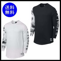 【送料無料】NIKE JORDAN  PRINTED DREAMS TOP 袖プリント