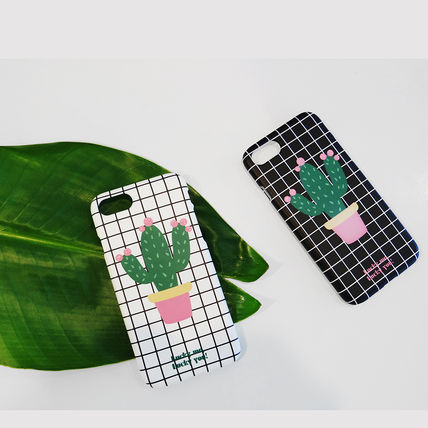 iPhone・スマホケース NEW 「LuckyMe LuckyYou」  Cactus サボテン ケース(2)