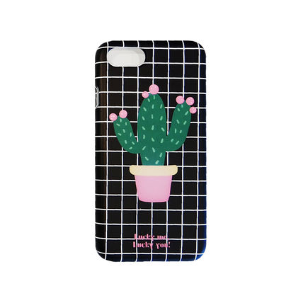 iPhone・スマホケース NEW 「LuckyMe LuckyYou」  Cactus サボテン ケース(5)