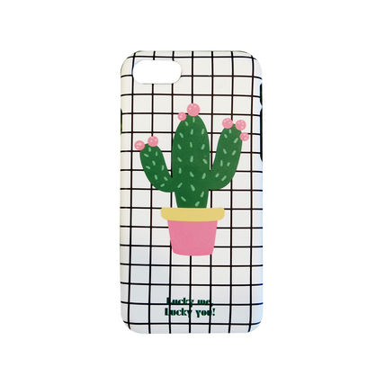 iPhone・スマホケース NEW 「LuckyMe LuckyYou」  Cactus サボテン ケース(6)