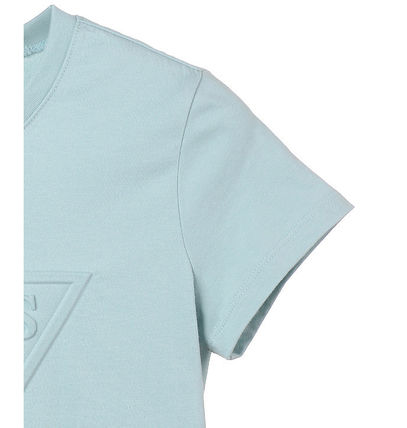 Guess Tシャツ・カットソー (Guess正規品) オリジナルエンボス▽半袖Tシャツ 4色(10)