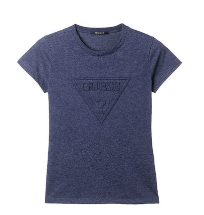 Guess Tシャツ・カットソー (Guess正規品) オリジナルエンボス▽半袖Tシャツ 4色(5)
