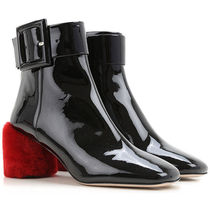 Patent Leather Ankle Boots パテントレザーブーツ