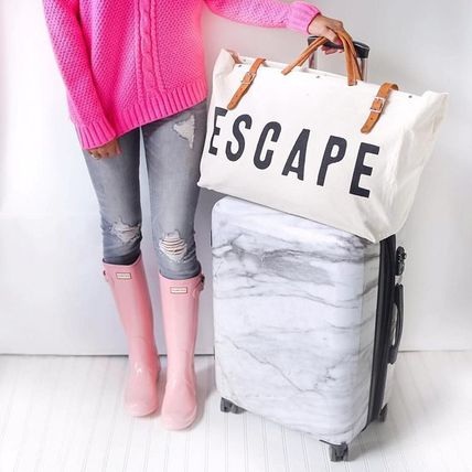 Beautiful CALPAK marble pattern cabin for carry-on suitcase