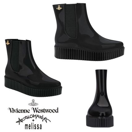 2017 Melissa+Vivienne / Chelsea thickness bottom boots
