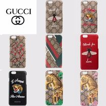 GUCCI☆直営店買い付け/ギフトOK☆iPhone 6/6sケース
