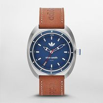 Stan Smith Three Hand Leather Watch - Brown