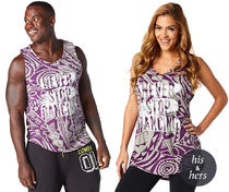 ◆3月新作◆Never Stop Dancing Zumba Toning Instructor Tank