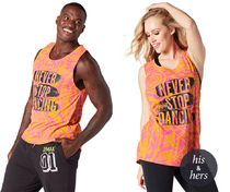 イントラ専用♪Never Stop Dancing Zumba Kids Instructor Tank