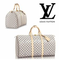 LOUIS VUITTON ルイヴィトン ★ キーポル 50 ダミエ・アズール