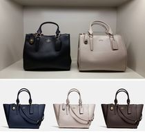 <COACH> コーチ17' 新作 ! 人気の2 way ☆ CROSBY CARRYALL !