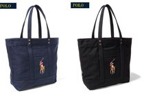 Ralph Lauren☆ Canvas Big Pony Tote トートバッグ2色 国内発送