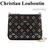 Christian Louboutin Triloubi Small Chain Bag ショルダー☆
