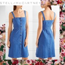 ☆17RESORT☆ Stella McCartney Linda stretch-denim dress