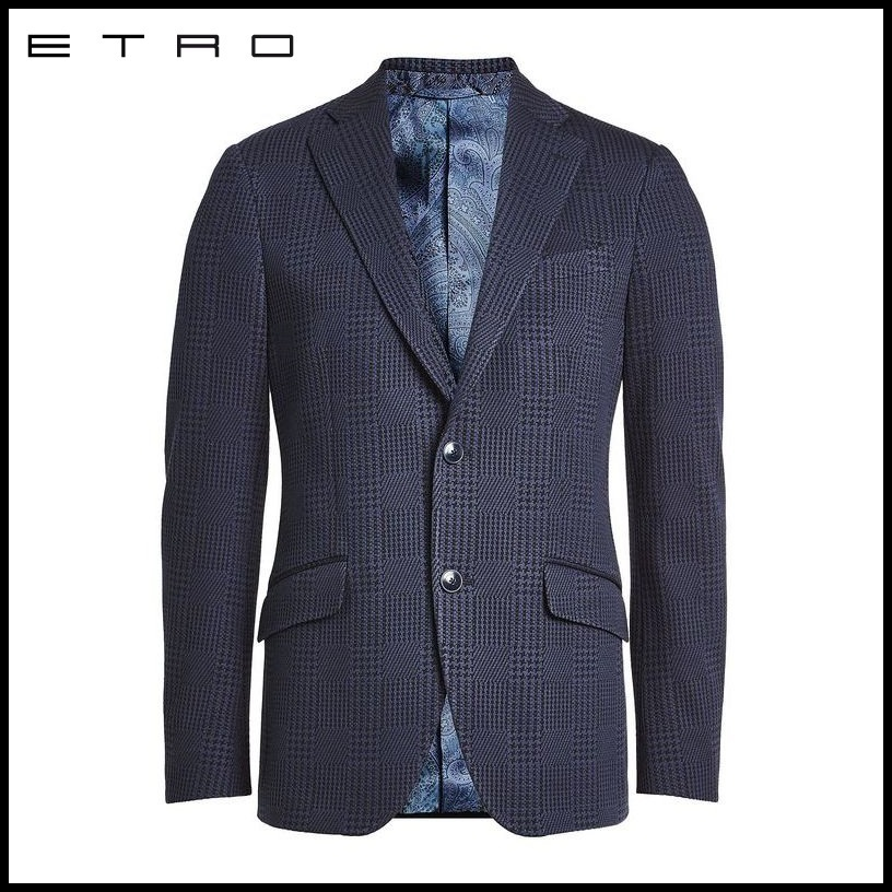 ETRO(エトロ)★Printed Blazer with Cotton★