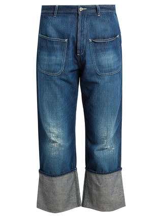 【国内発・送関込】LOEWE-Fisherman distressed jeans
