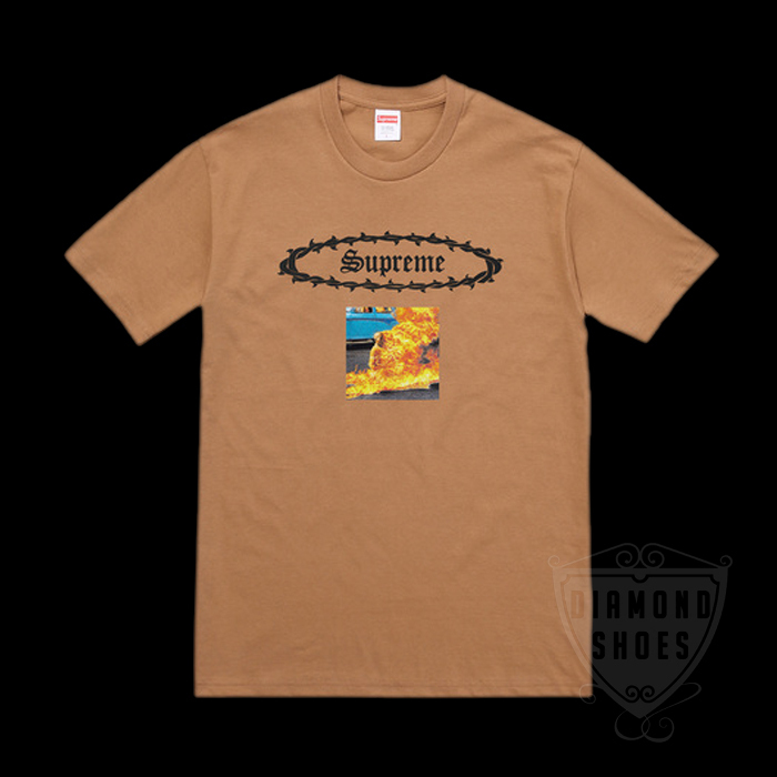SS17 SUPREME ETERNAL TEE MOCHA S-XL 茶 送料無料