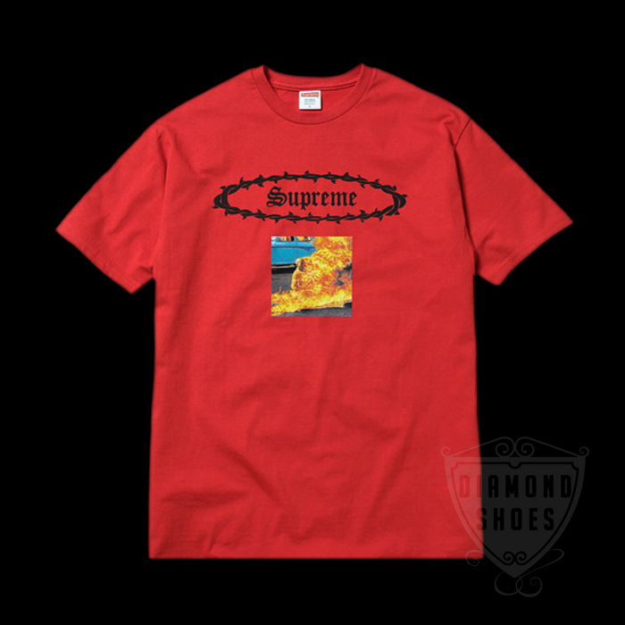 SS17 SUPREME ETERNAL TEE RED S-XL 赤 送料無料