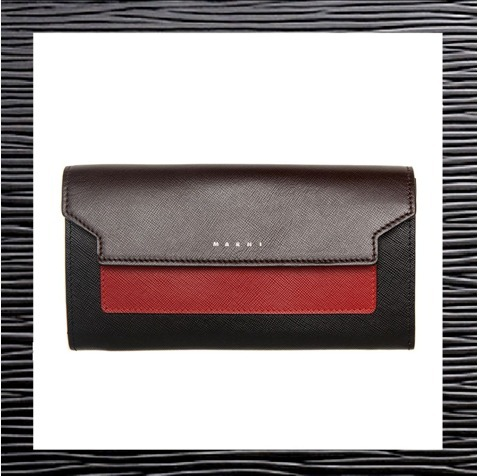 2017新作【MARNI】マルニ★TRUNK design Wallet 長財布