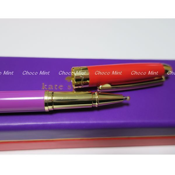 2~5日でお届けRed and Purple Ballpoint Pen