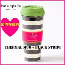 2~5日でお届け Thermal Mug - Black Stripe