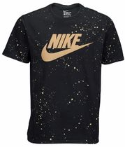 NIKE FUTURA REFRACTIVE GRAPHIC T-SHIRT (Black/Gold)