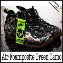 ★【NIKE】入手困難!! ナイキ Air Foamposite Green Camo