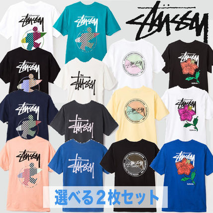 -STUSSY-deals new 14 types of T shirt Pack
